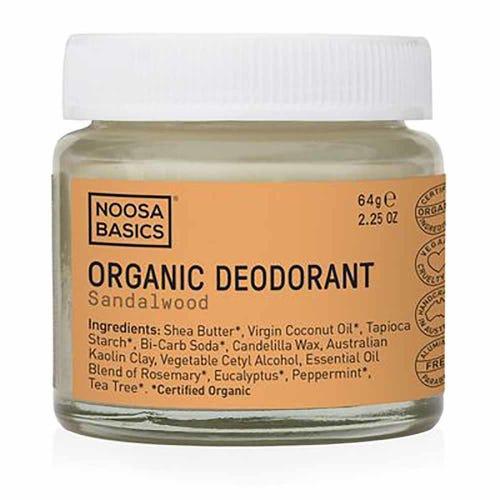 Noosa Basics Deodorant Paste - Sandalwood (64g)