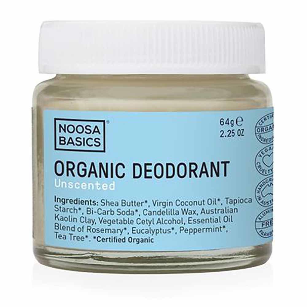 Noosa Basics Deodorant Paste - Unscented (64g)