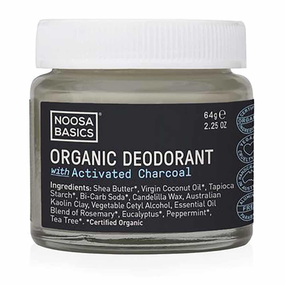 Noosa Basics Deodorant Paste - Activated Charcoal (64g)