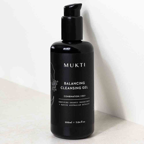 Mukti Balancing Cleansing Gel (200ml)