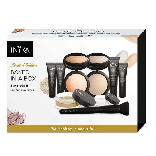 Inika Baked in a Box Kit - Strength - Fair Skin