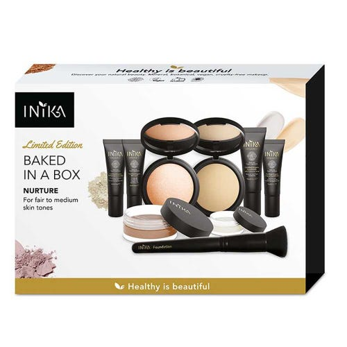 Inika Baked in a Box Kit - Nurture - Fair to Medium Skin