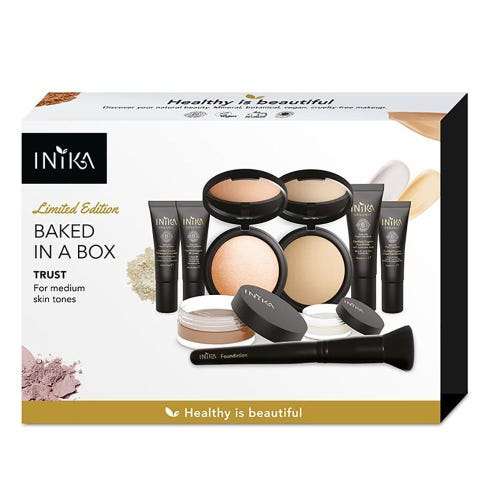 Inika Baked in a Box Kit - Trust - Medium Skin