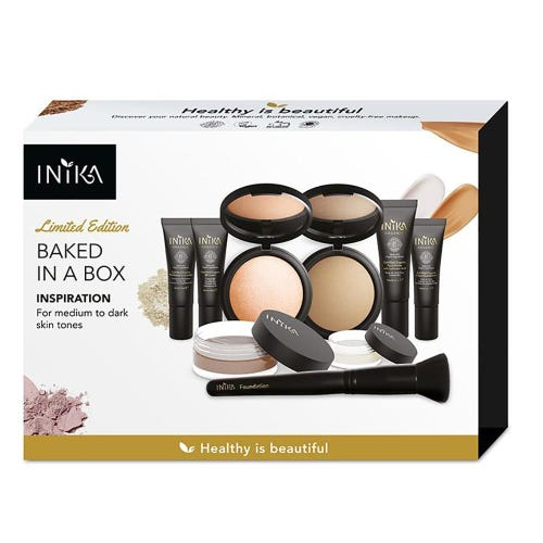 Inika Baked in a Box Kit - Inspiration - Medium to Dark Skin