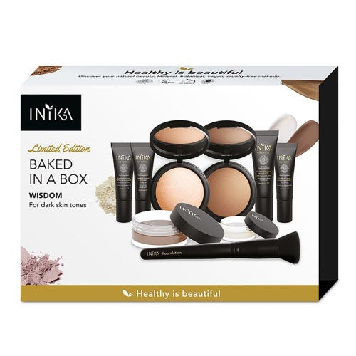 Inika Baked in a Box Kit - Wisdom - Dark Skin