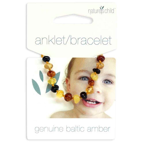 Nature's Child Amber Bracelet Babies - Mixed