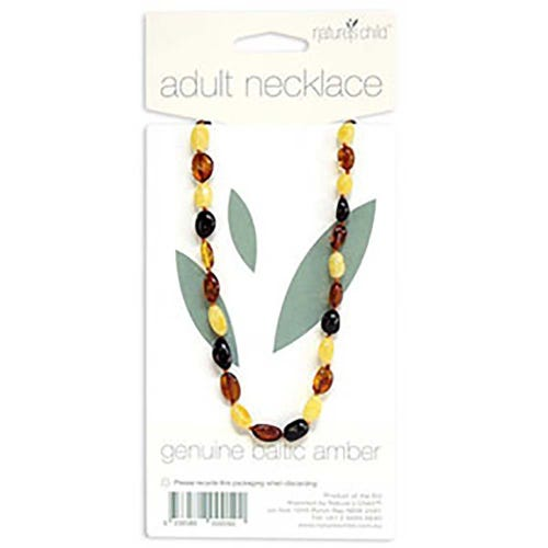 Nature's Child Amber Necklace Adult - Mixed