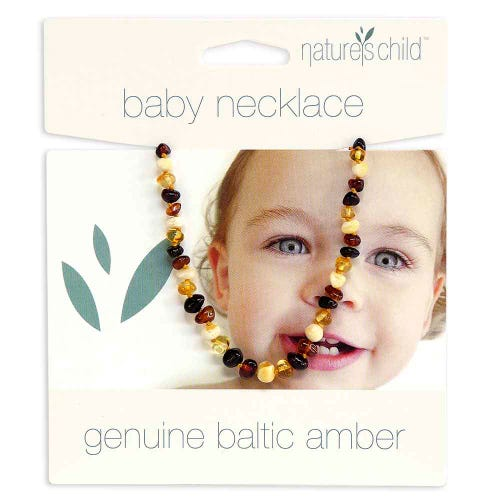 Nature's Child Amber Necklace Babies - Mixed