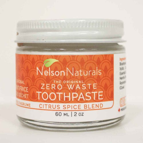 Nelson Naturals Toothpaste Citrus Spice Blend (60ml)