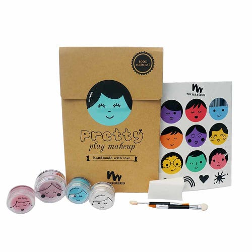 No Nasties Pretty Play Make Up Set Turquoise
