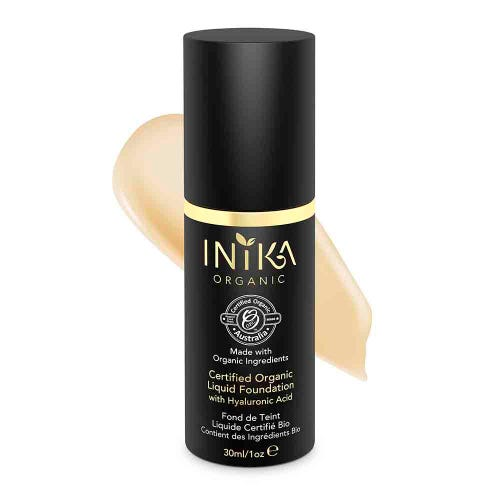 Inika Certified Organic Liquid Foundation  (30ml)