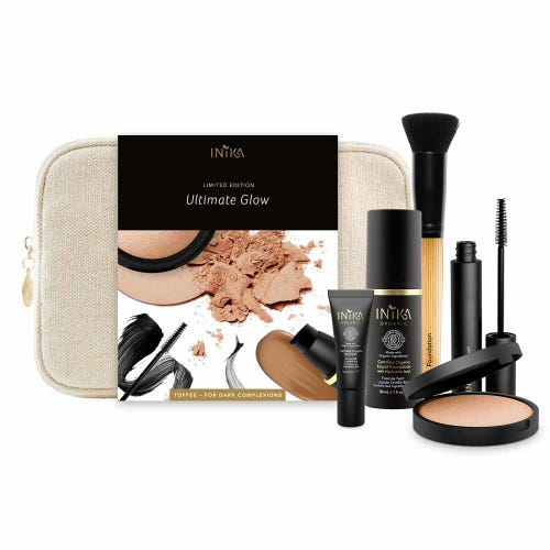 Inika Ultimate Glow Kit Toffee - Darker Tones