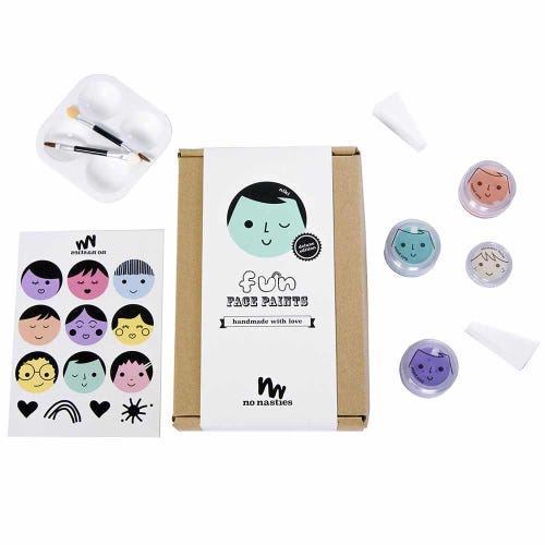 No Nasties Niki Fun Face Paints Deluxe