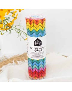 No Nasties Home Not-So-Paper Towels - Mixed Prints (12 Pack)