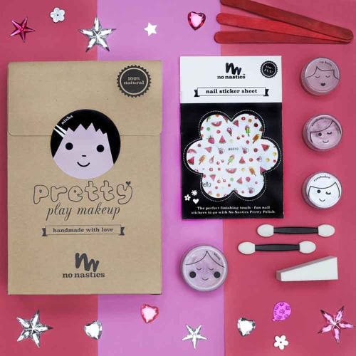 No Nasties Pretty Play Make Up Set Pink