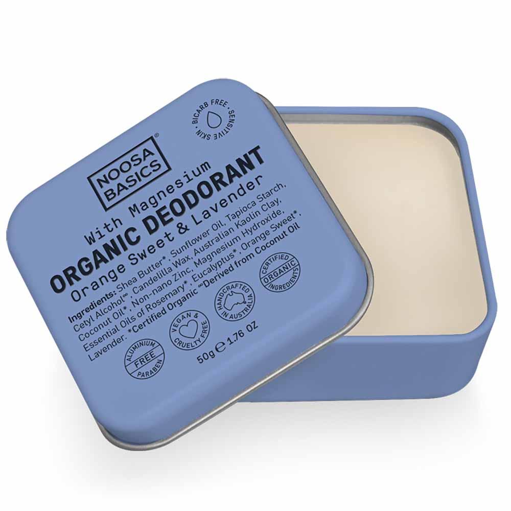 Noosa Basics Deodorant Paste - Sweet Orange & Lavender (50g)