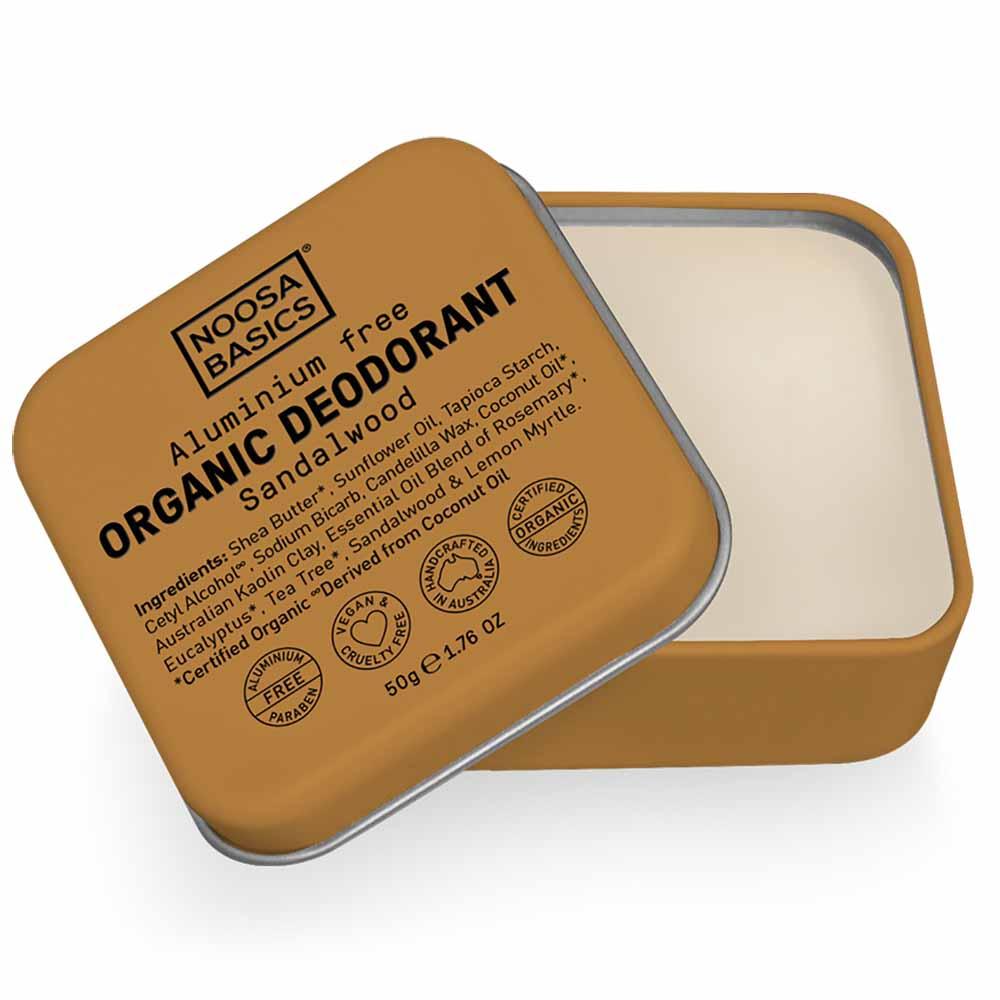 Noosa Basics Deodorant Paste - Sandalwood (50g)