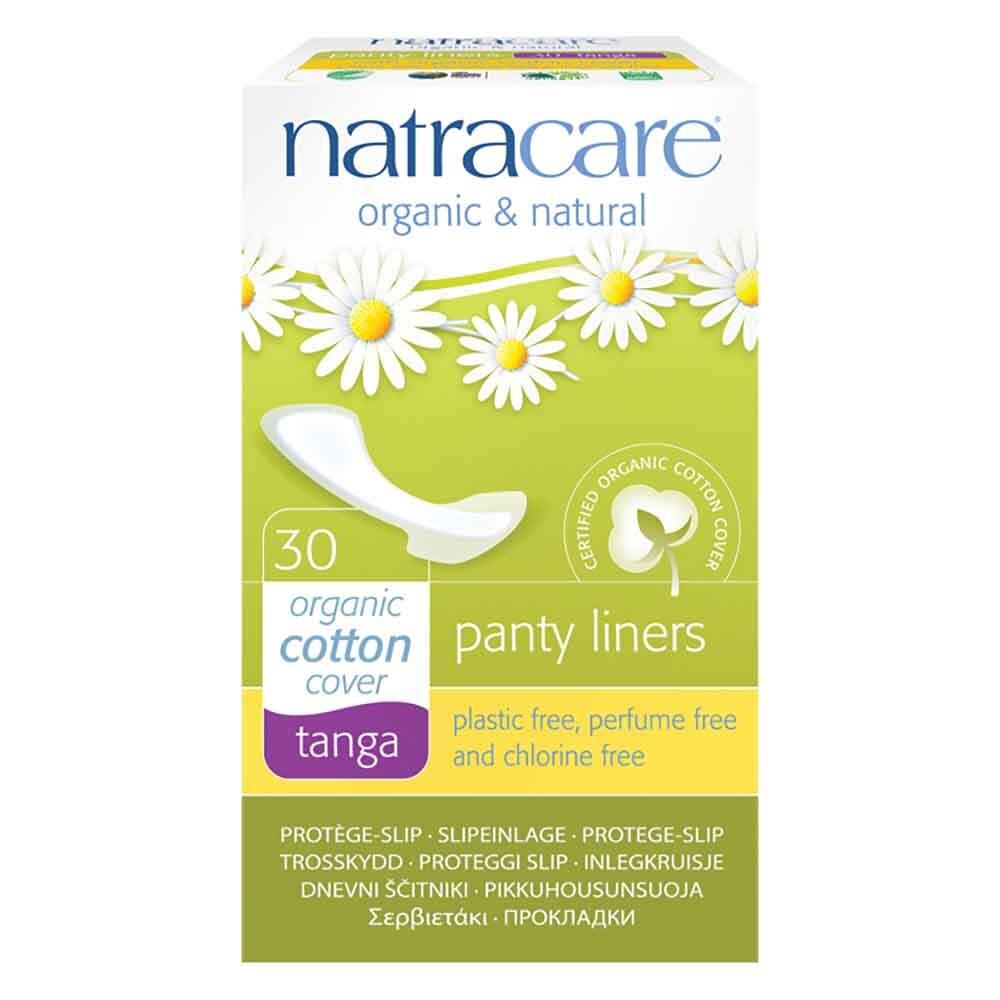 Natracare Organic Panty Liners - Tanga (30 pack)