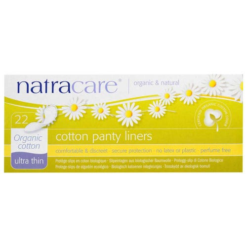 Natracare Organic Panty Liners - Ultra Thin (22 pack)