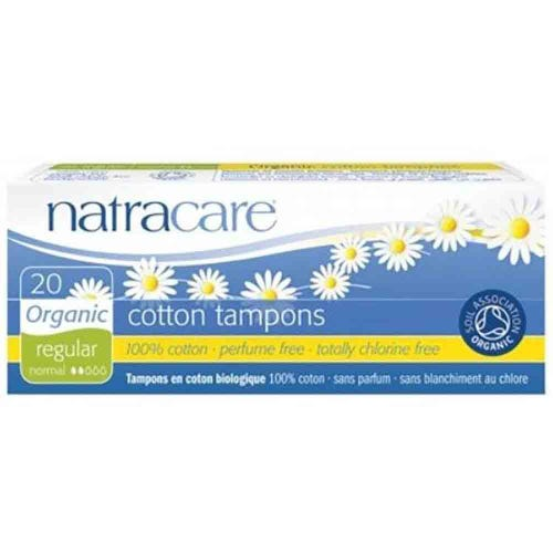 Natracare Organic Regular Tampons (20 pack)