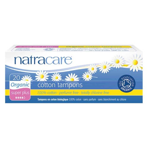 Natracare Organic Super Plus Tampons (20 pack)
