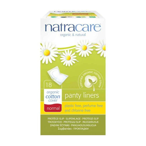 Natracare Organic Panty Liners - Normal (18 pack)