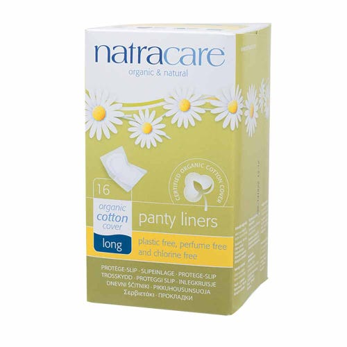Natracare Organic Panty Liners - Extra Long (16 pack)