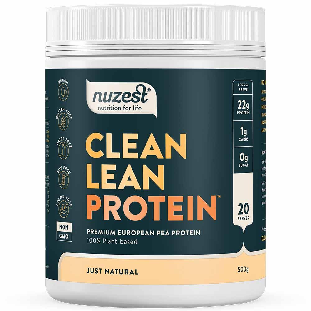 Nuzest Clean Lean Protein - Just Natural (500g)