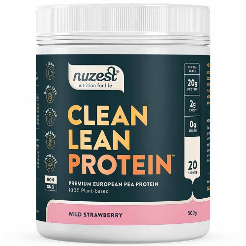 Nuzest Clean Lean Protein - Wild Strawberry (500g)