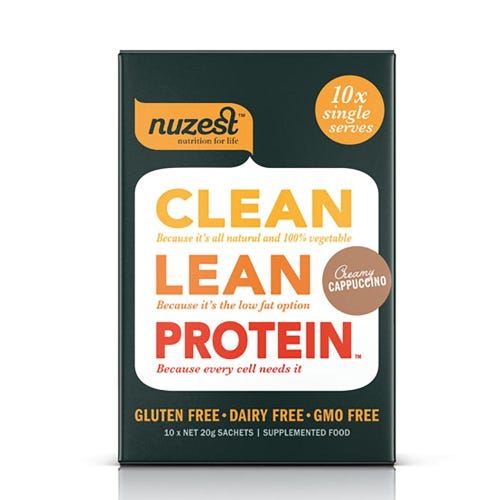 Nuzest Clean Lean Protein Box - Real Coffee (10 Single Sachets)