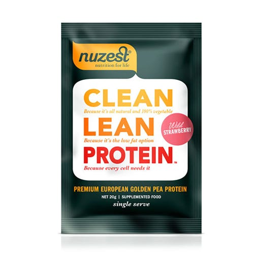Nuzest Clean Lean Protein Sachet - Wild Strawberry (Single Serve)