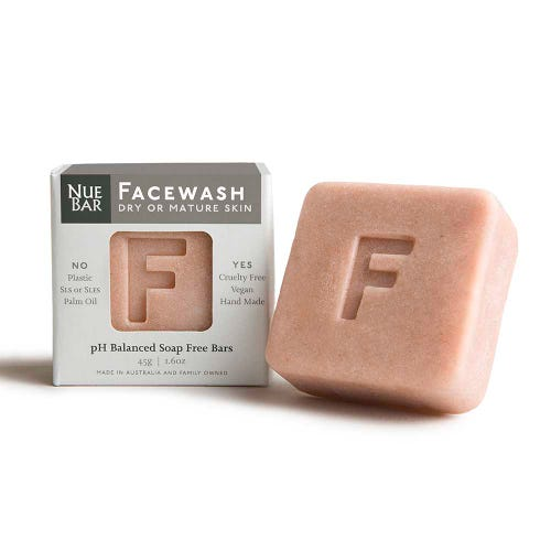 NueBar Facewash Bar - Dry/Mature Skin