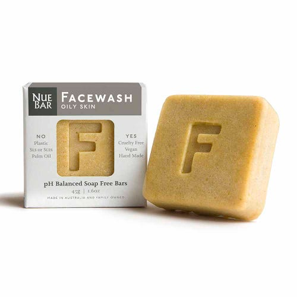 NueBar Facewash Bar - Oily Skin