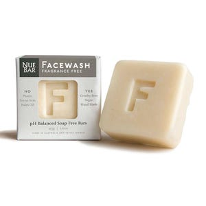 NueBar Facewash Bar - Fragrance Free