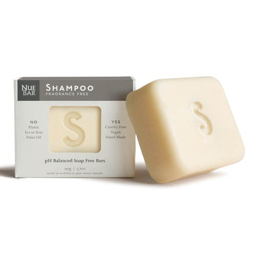 NueBar Shampoo Bar - Fragrance Free
