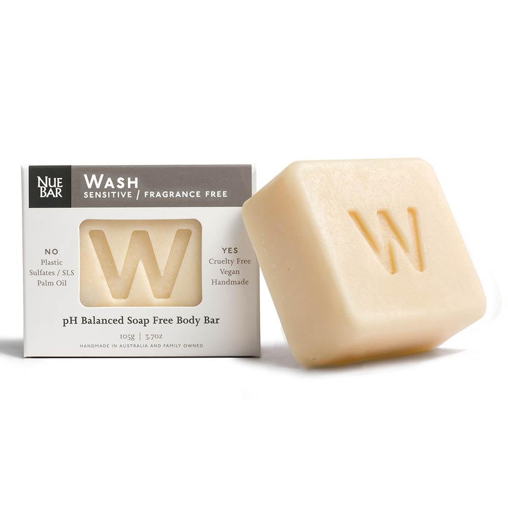 NueBar Body Wash Bar - Fragrance Free