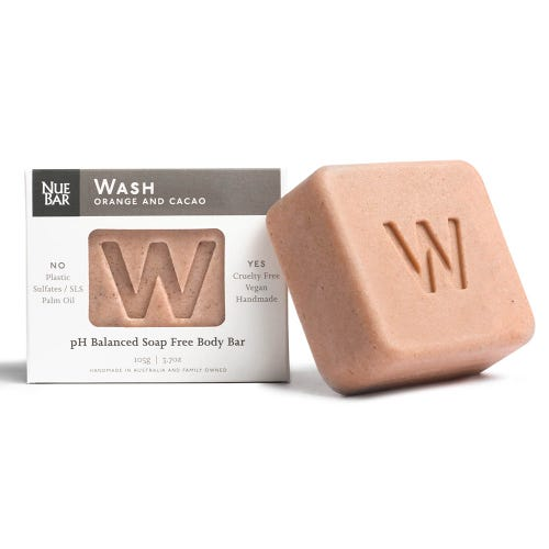 NueBar Body Wash Bar - Orange & Cacao