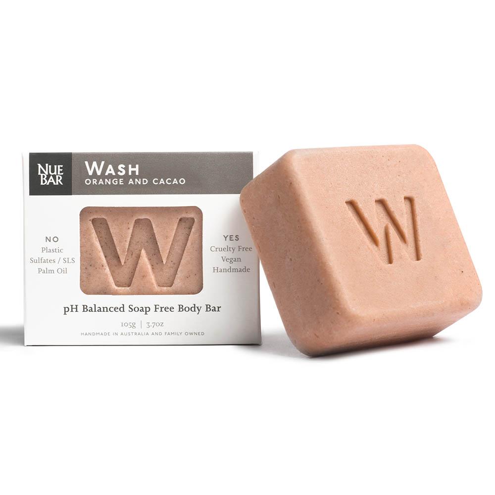 NueBar Body Wash Bar - Orange & Cacao
