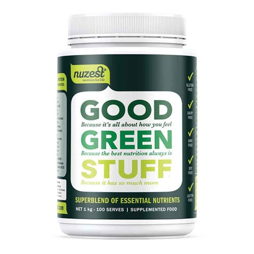 Nuzest Good Green Stuff (1kg)