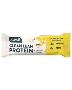 Nuzest Clean Lean Protein Bar - Coconut & Lemon (55g) | Flora & Fauna Australia