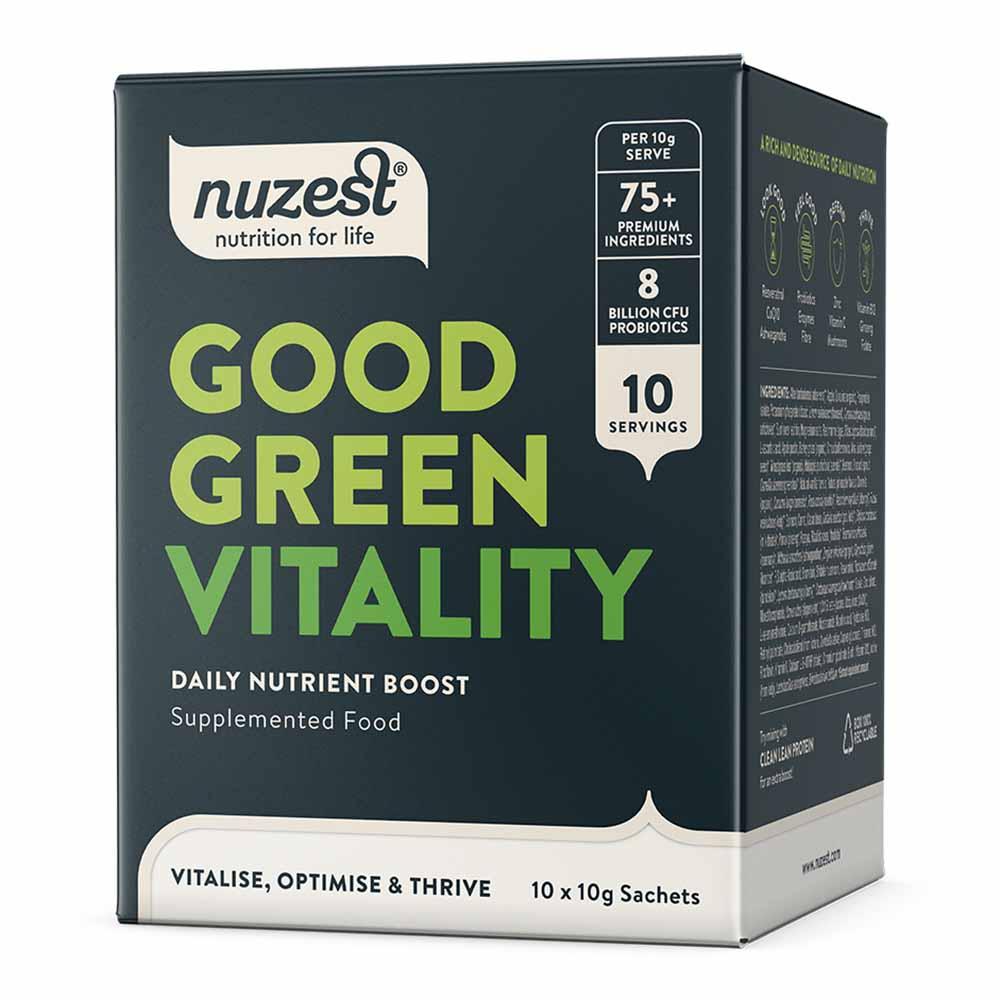 Good Green Vitality Vegan Sachets 10 Pack