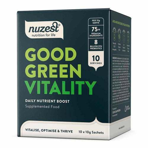 Good Green Vitality Vegan Sachets 10 Pack