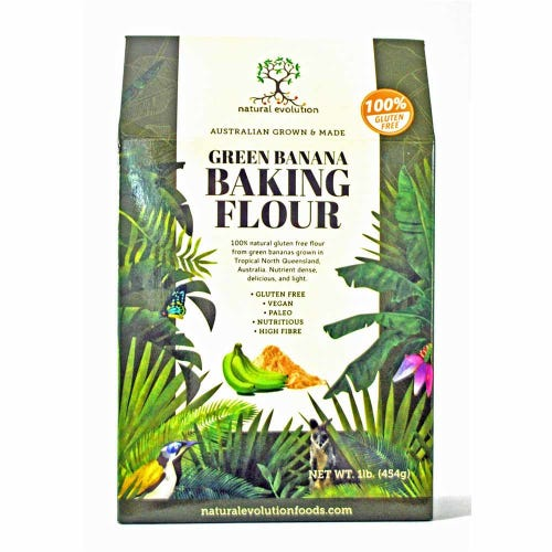Natural Evolution Green Banana Baking Flour (454g)