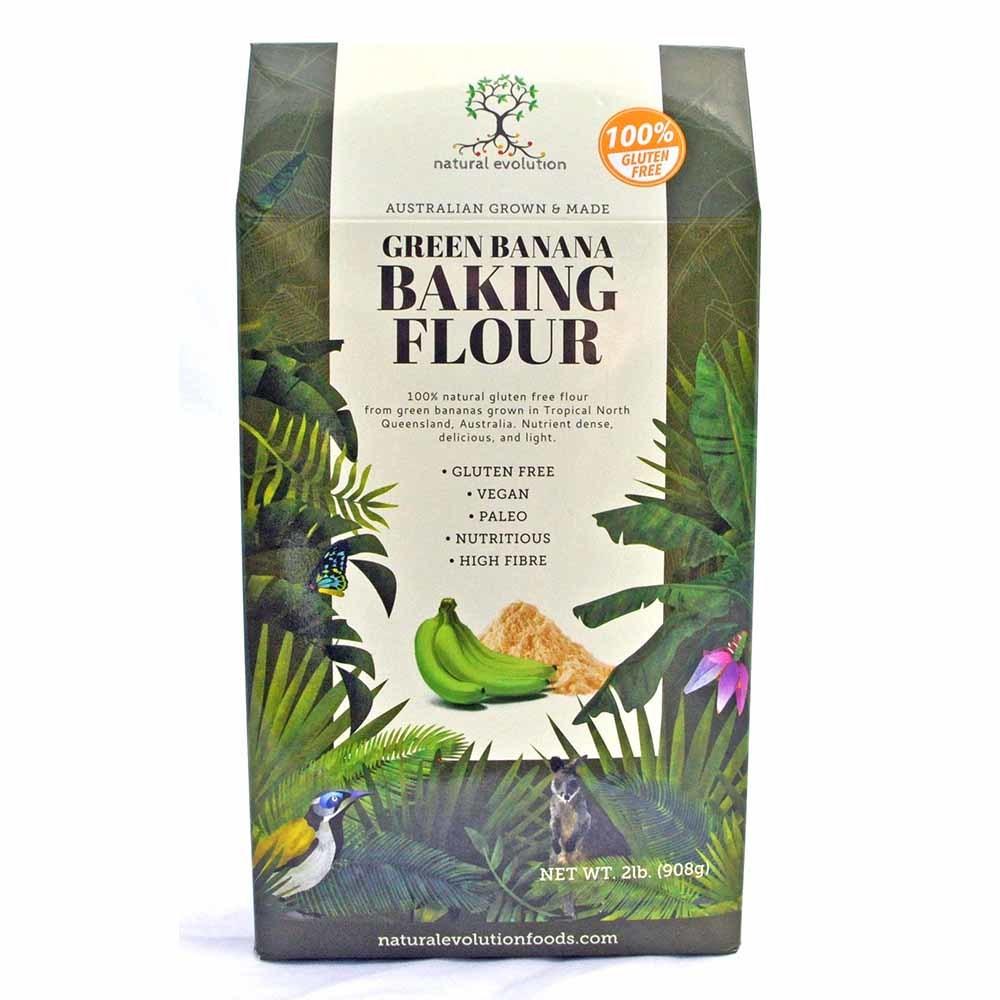 Natural Evolution Green Banana Baking Flour (908g)