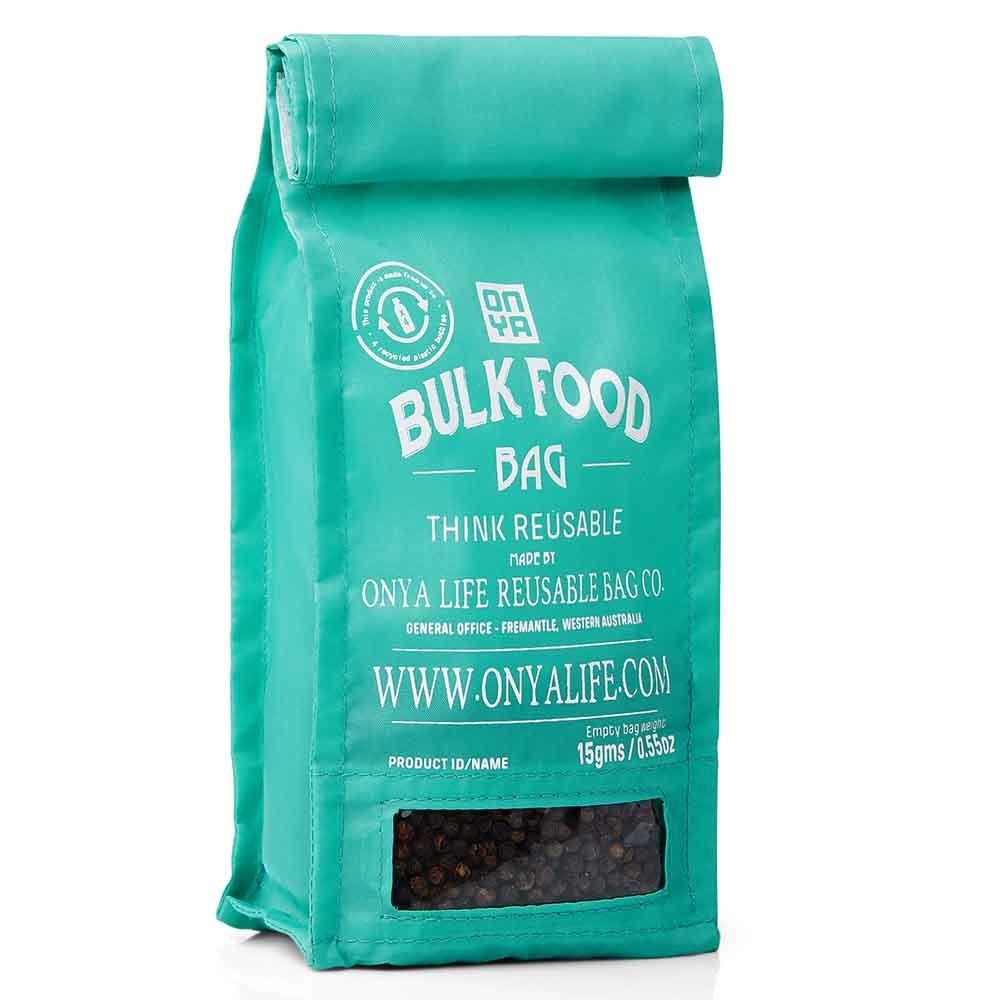 Onya Reusable Bulk Food Bag Small - Aqua
