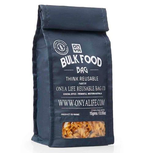Onya Reusable Bulk Food Bag Small - Charcoal