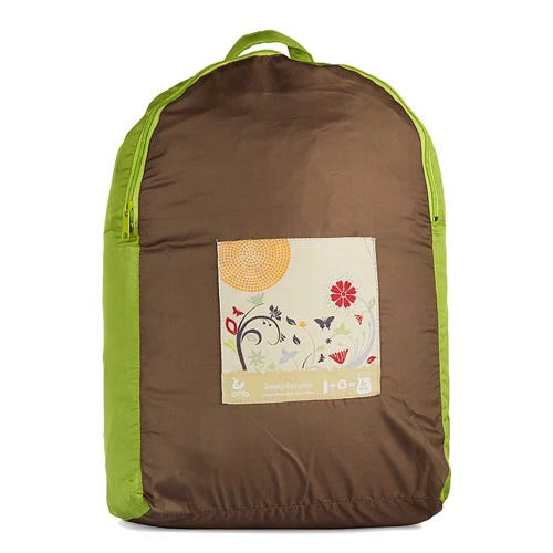 Onya Backpack - Olive Apple Garden