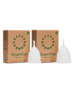 OrganiCup Reusable Menstrual Cup Model A/B Bundle | Flora & Fauna