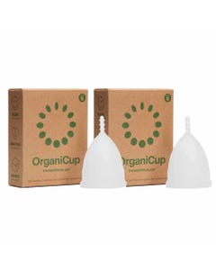 OrganiCup Reusable Menstrual Cup Model B Bundle | Flora & Fauna
