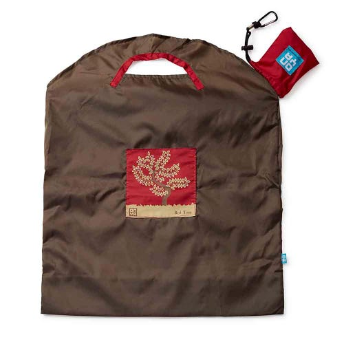 Onya Shopping Bag Large - Olive Red Tree
